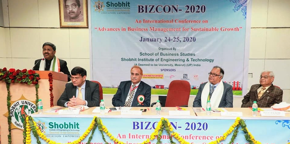 BIZCON- 2020 INTERNATIONAL Conference on Advances in Business Management for Sustainable Growth