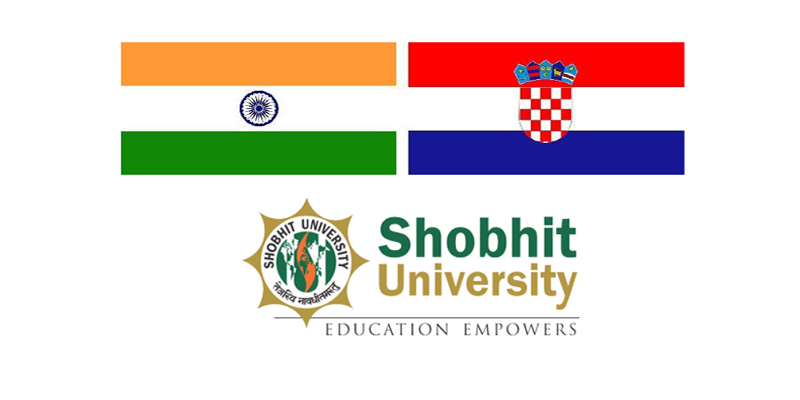 Shobhit University signed two MoUs with Croatian Universities