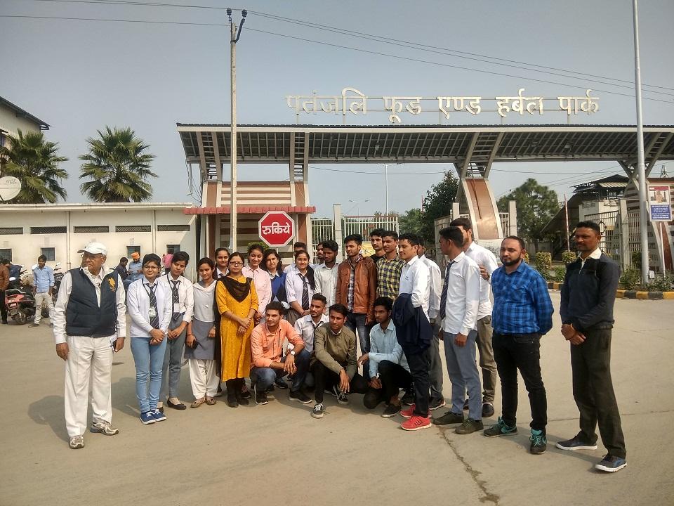 Industrial Visit by Biomedical Engineering Department, Shobhit University, Meerut