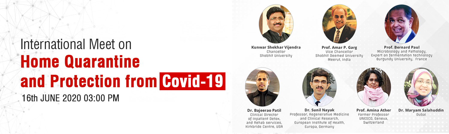 Internation Meet on Home Quarantine and Protection from Covid-19