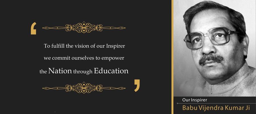 Shobhit University our inspirer